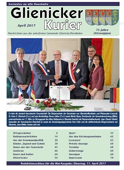 Glienicker Kurier April 2017